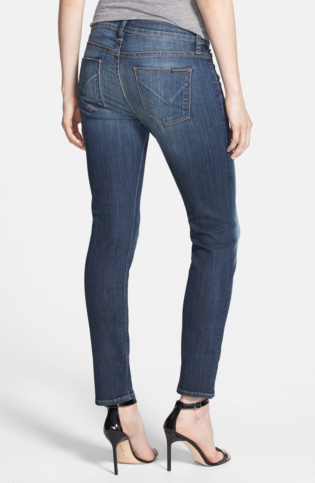 Alternate Image 2  - Hudson Jeans 'Collette' Skinny Ankle Jeans (Glam)