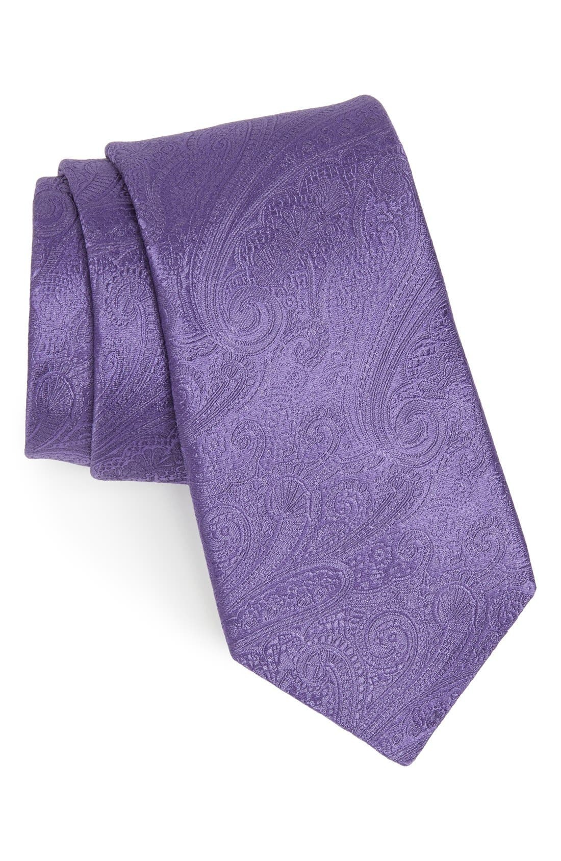 Alternate Image 1 Selected - Michael Kors Paisley Woven Silk Tie
