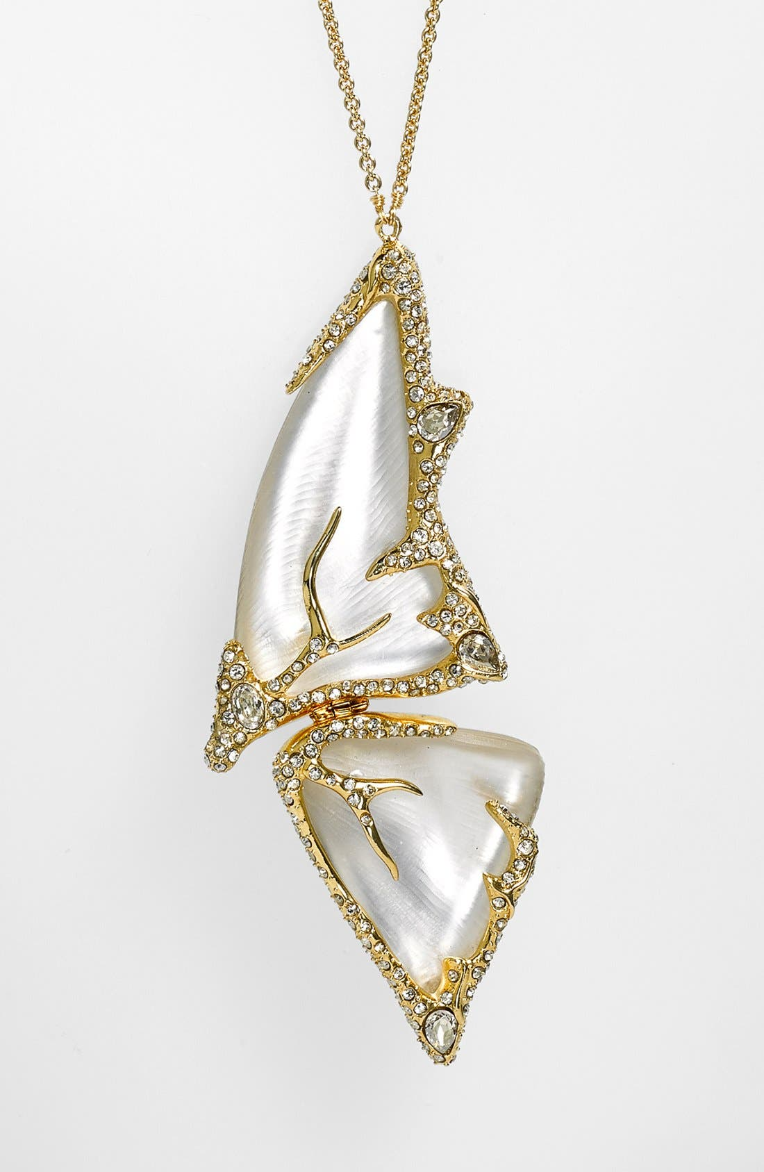 Alternate Image 2  - Alexis Bittar 'Lucite® - Jardin Mystère' Long Butterfly Pendant Necklace