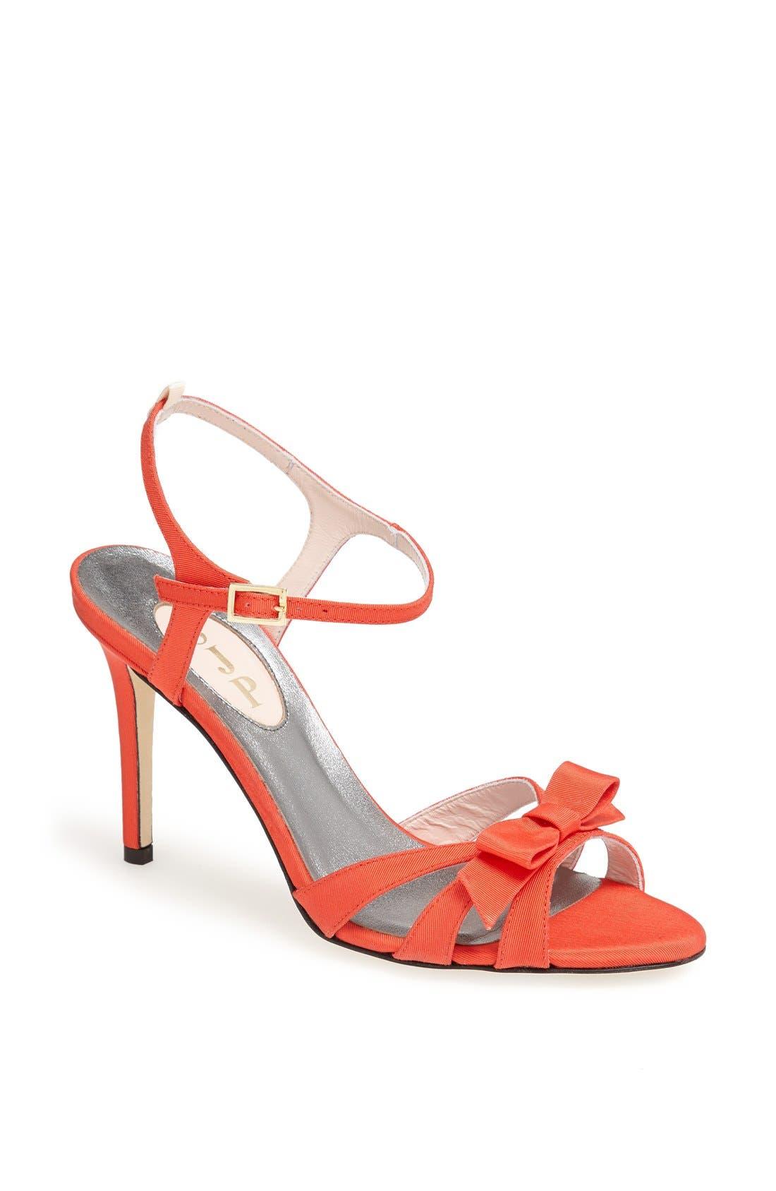 Main Image - SJP 'Silvia' Grosgrain Ankle Strap Sandal (Nordstrom Exclusive)
