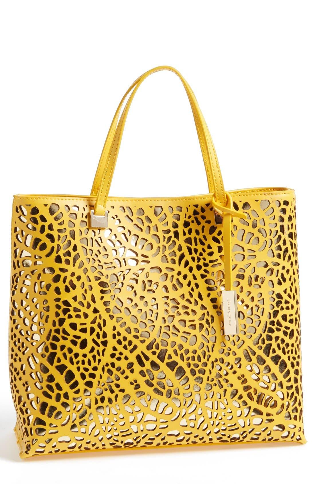 Main Image - Ivanka Trump 'Julia' Perforated Handbag