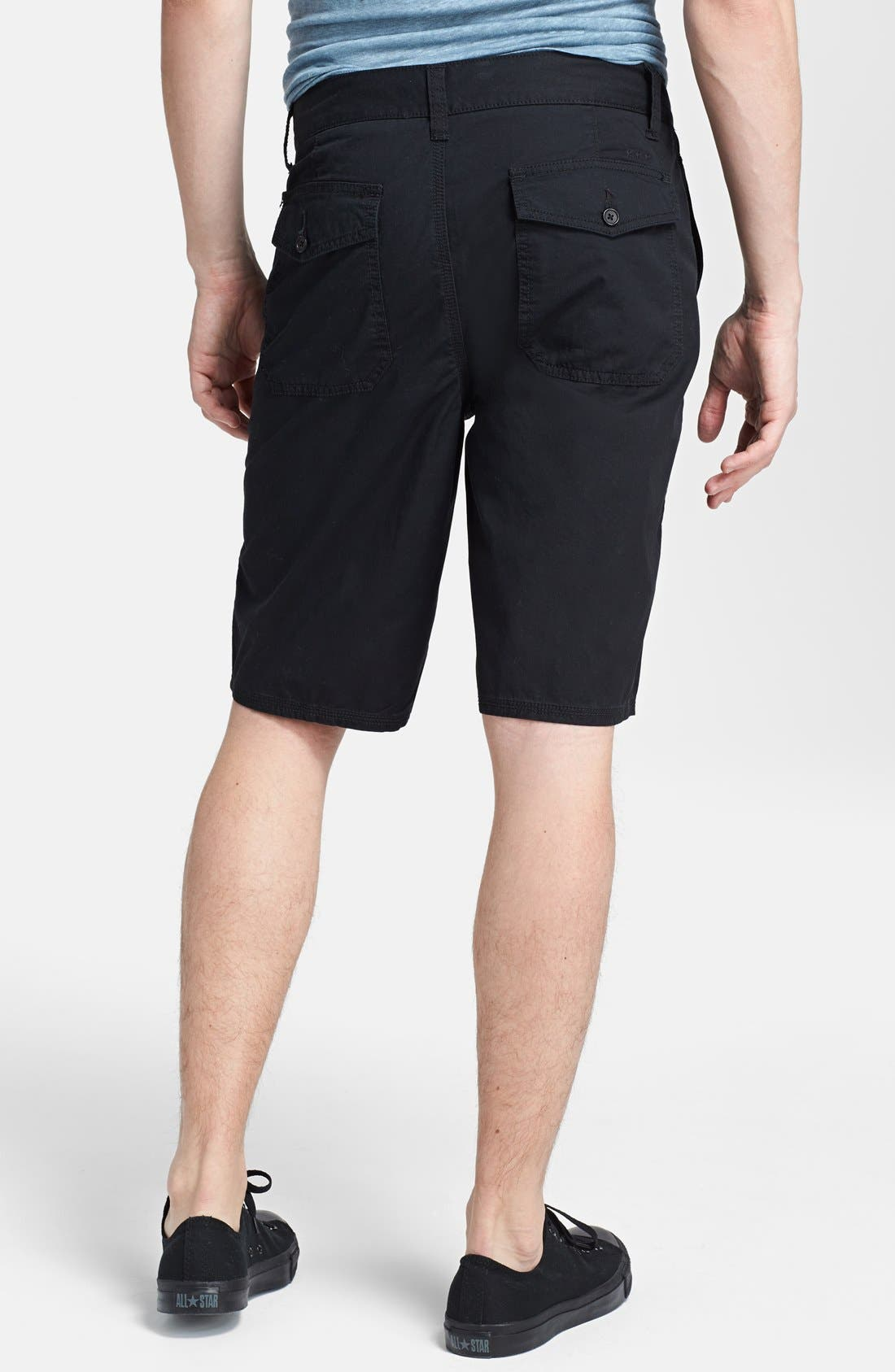 Alternate Image 2  - John Varvatos Star USA Flat Front Shorts