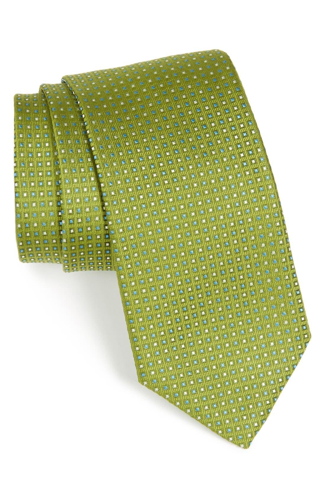 Alternate Image 1 Selected - BOSS HUGO BOSS Geometric Silk Tie