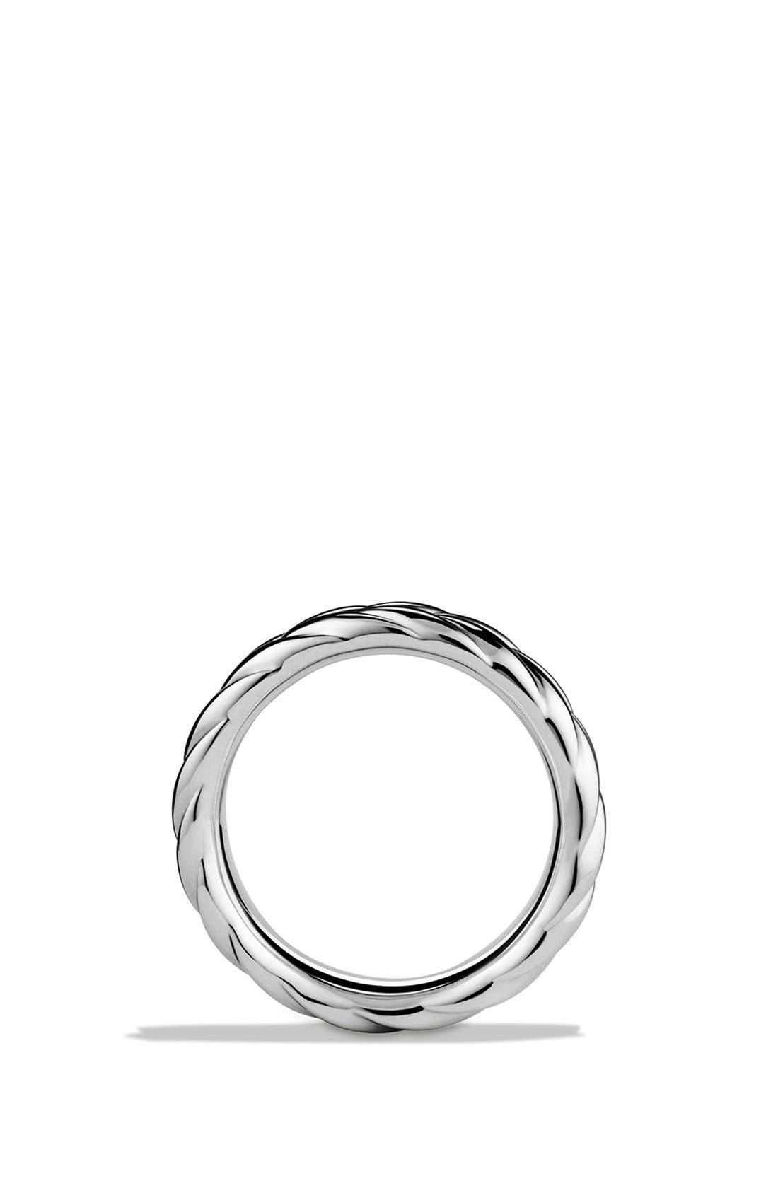 Alternate Image 2  - David Yurman 'Chevron' Band Ring