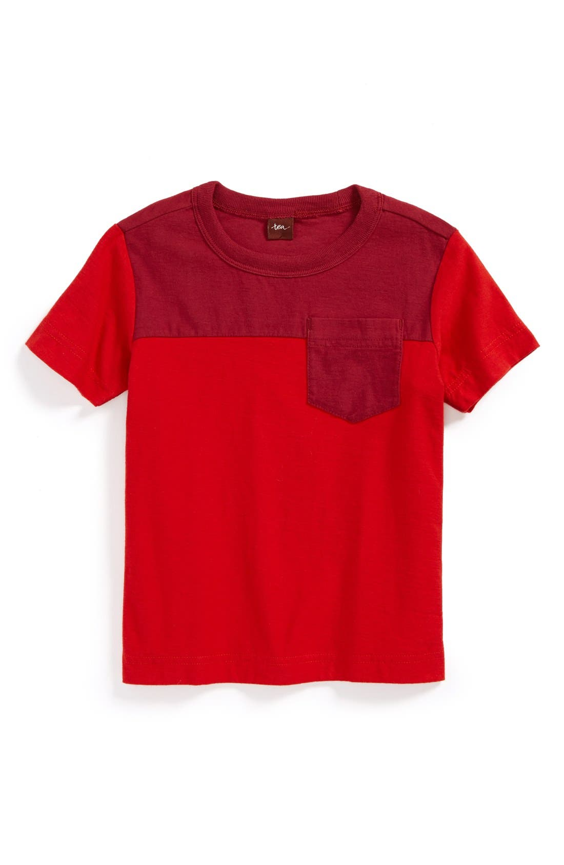 Alternate Image 1 Selected - Tea Collection Colorblock T-Shirt (Toddler Boys)