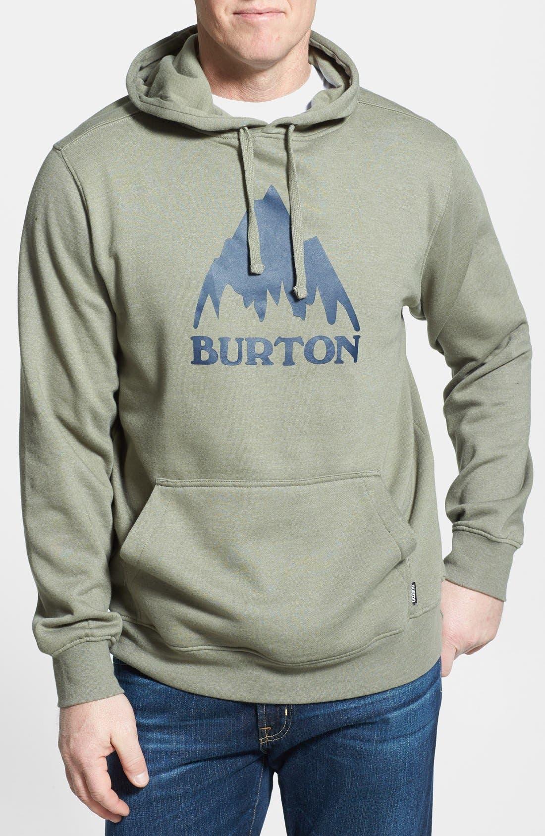 Alternate Image 1 Selected - Burton 'Mountain Logo' Hoodie