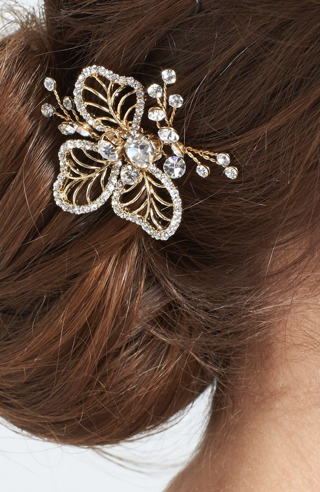 Alternate Image 2  - Wedding Belles New York 'Cosette 2' Hairpin (Nordstrom Exclusive)