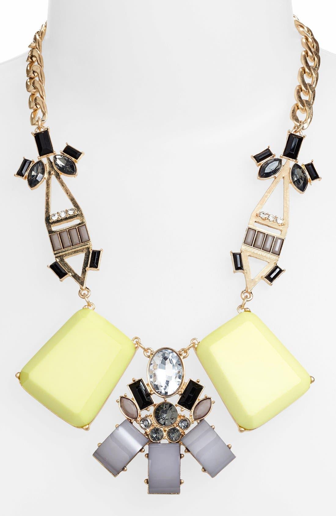 Alternate Image 2  - Cara Couture 'Art Deco' Necklace