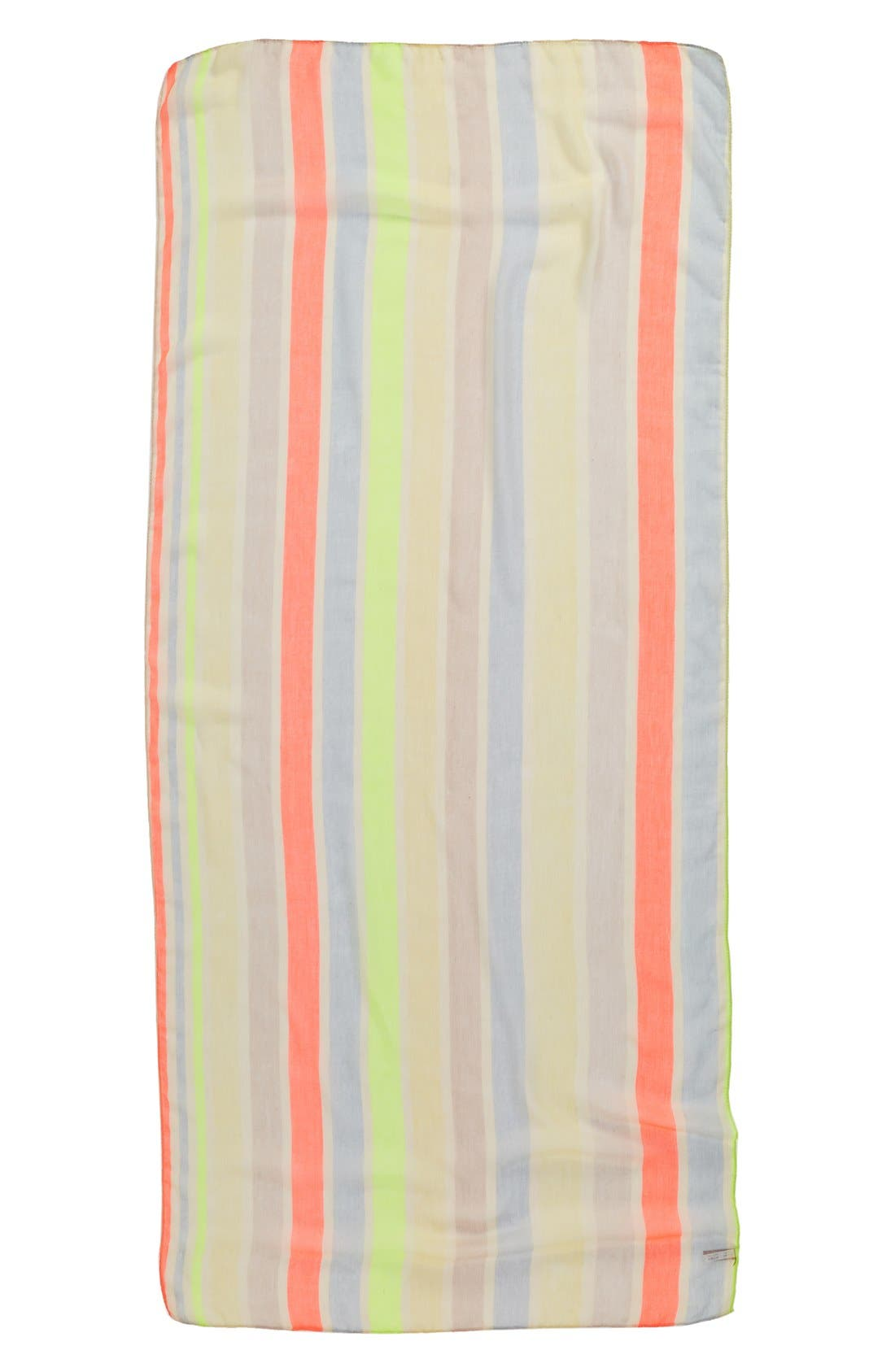 Alternate Image 2  - Evelyn K 'Neon Stripe' Scarf