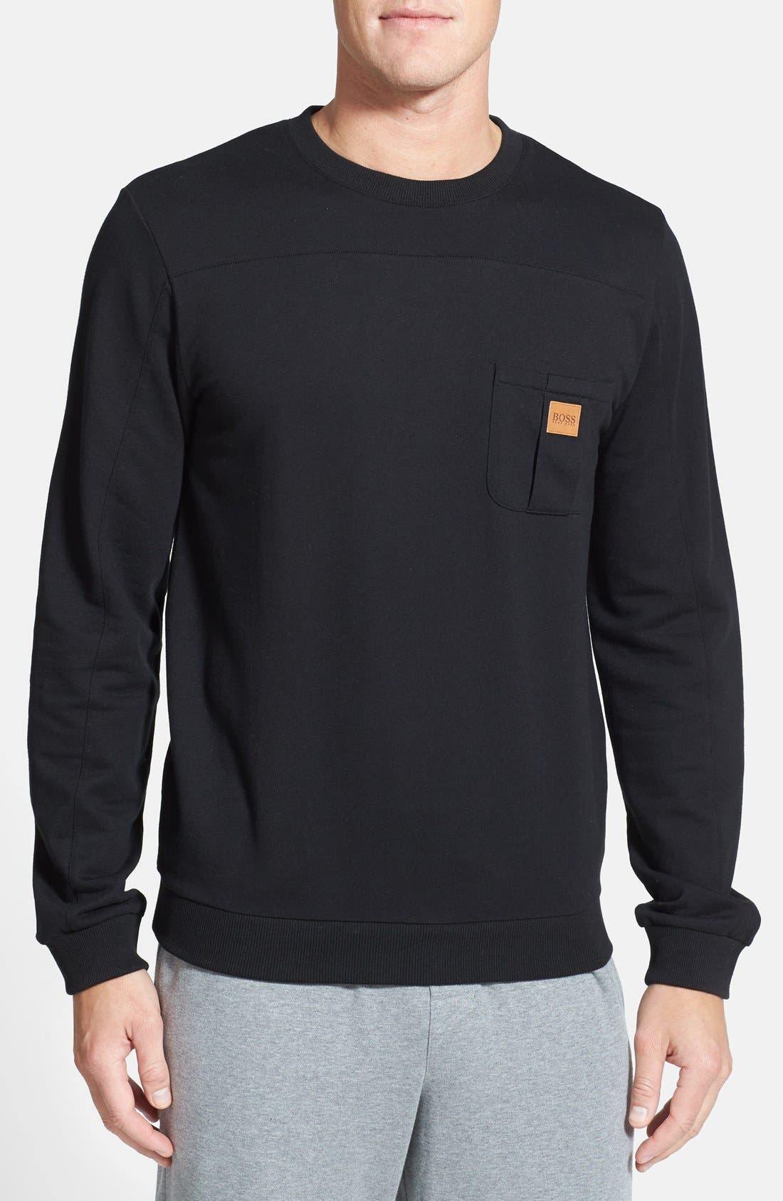 Main Image - BOSS HUGO BOSS 'Innovation 6' Sweatshirt