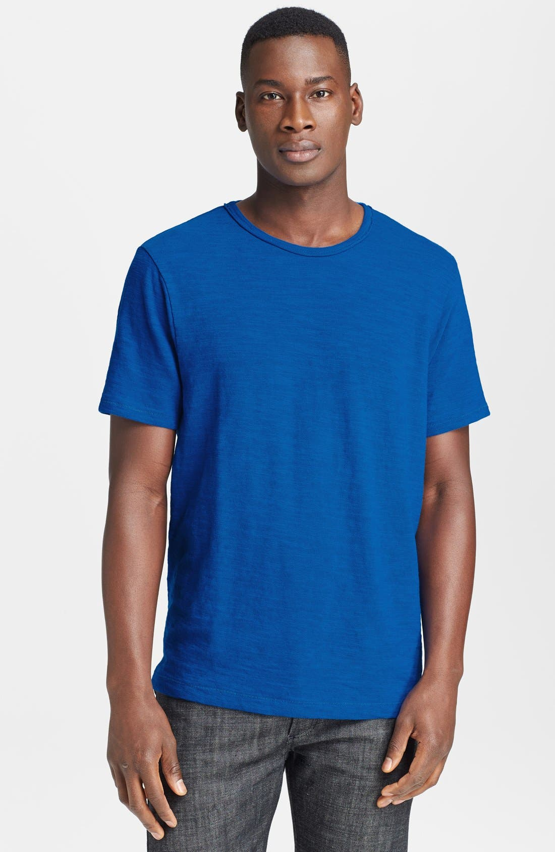 Main Image - rag & bone Standard Issue Slubbed Cotton T-Shirt