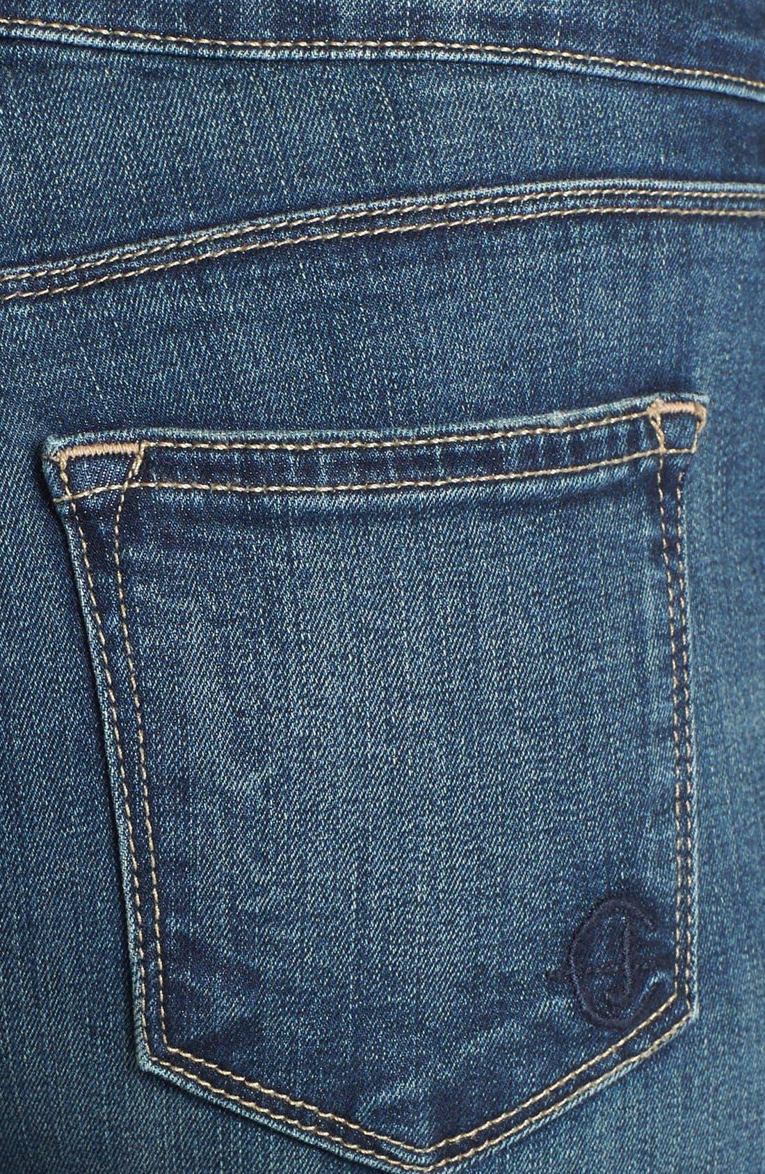 Alternate Image 3  - CJ by Cookie Johnson 'Rejoice' Stretch Crop Boyfriend Jeans (Tops)