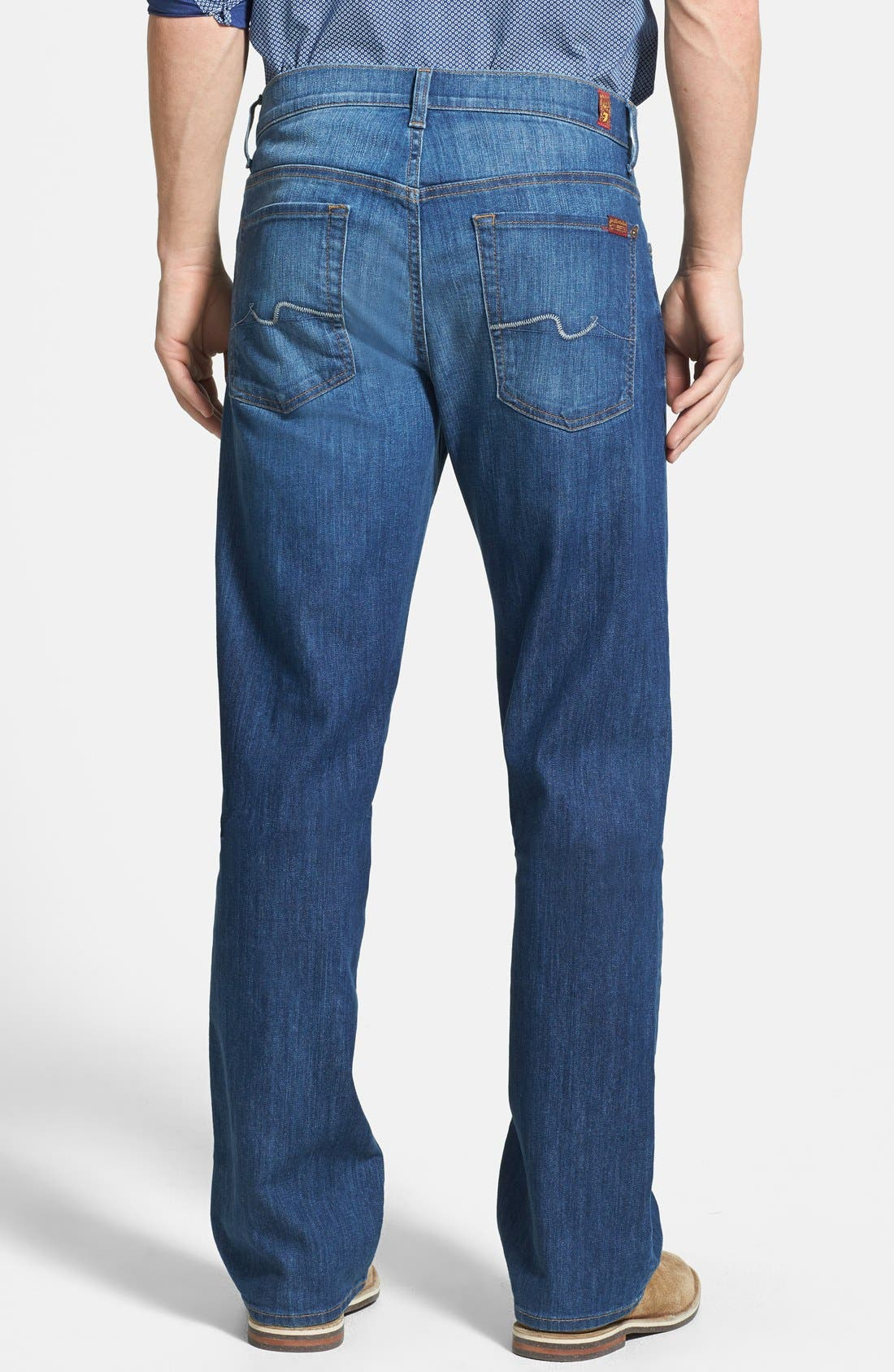Alternate Image 2  - 7 For All Mankind® 'Austyn' Relaxed Fit Jeans (Mountak Lake)