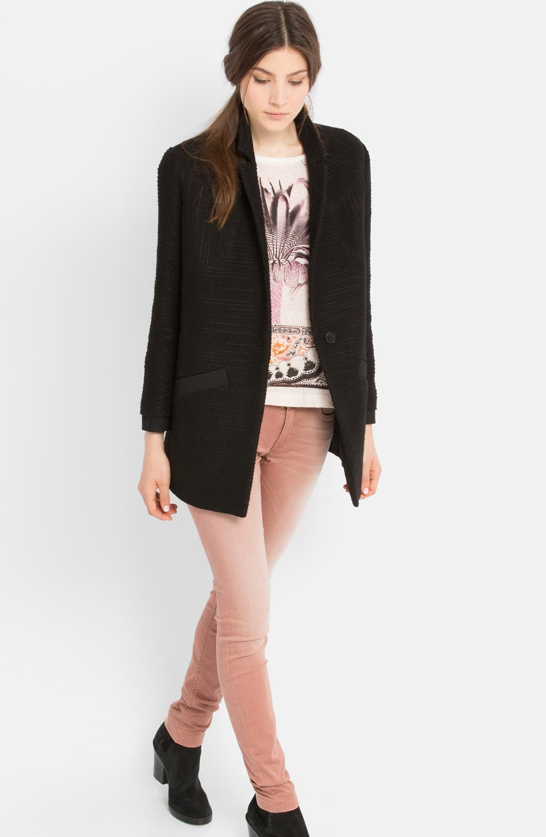 Alternate Image 4  - maje 'Ecoutille' Woven Jacket