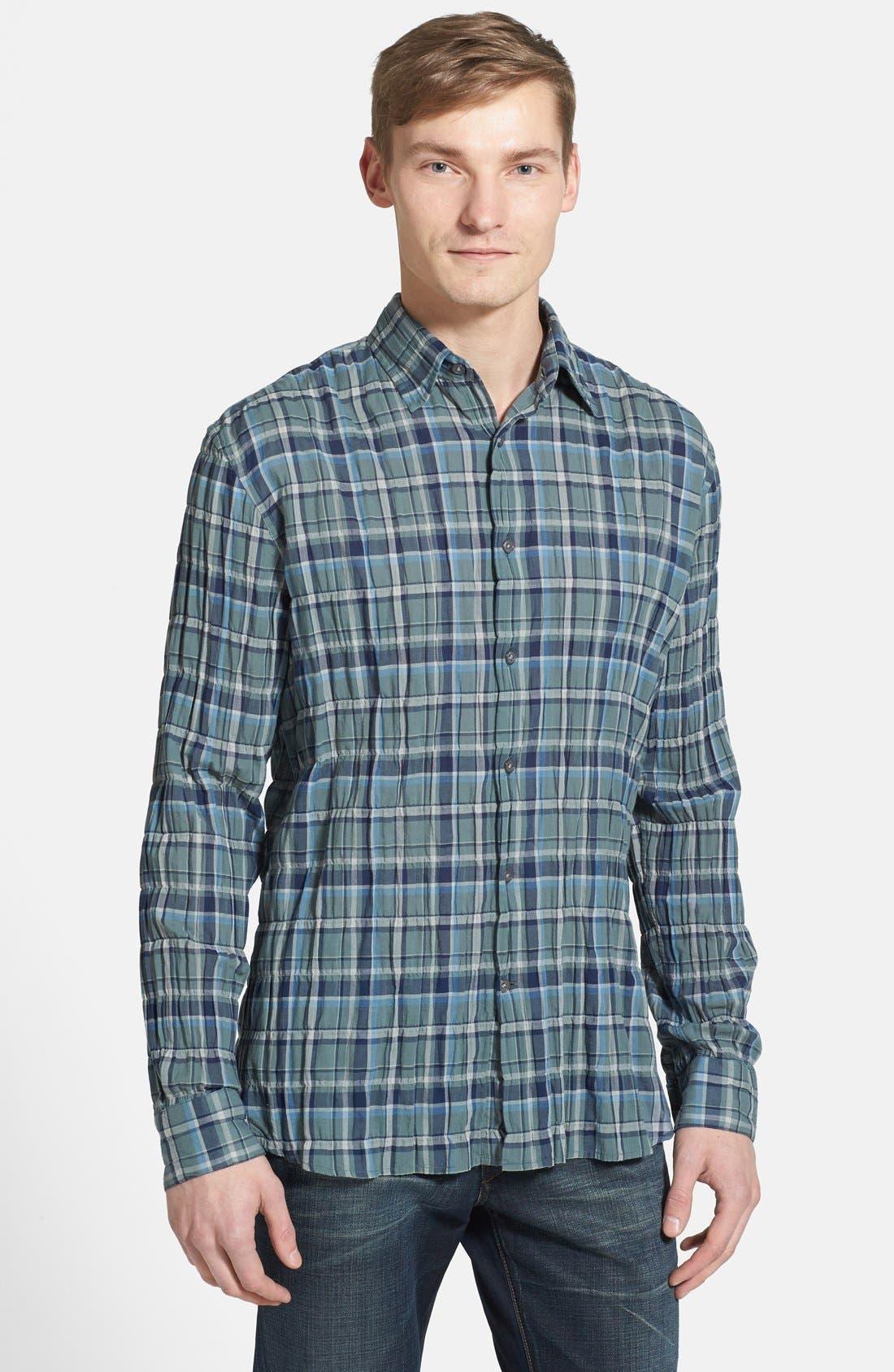Main Image - John Varvatos Star USA 'Basic Point' Slim Fit Sport Shirt