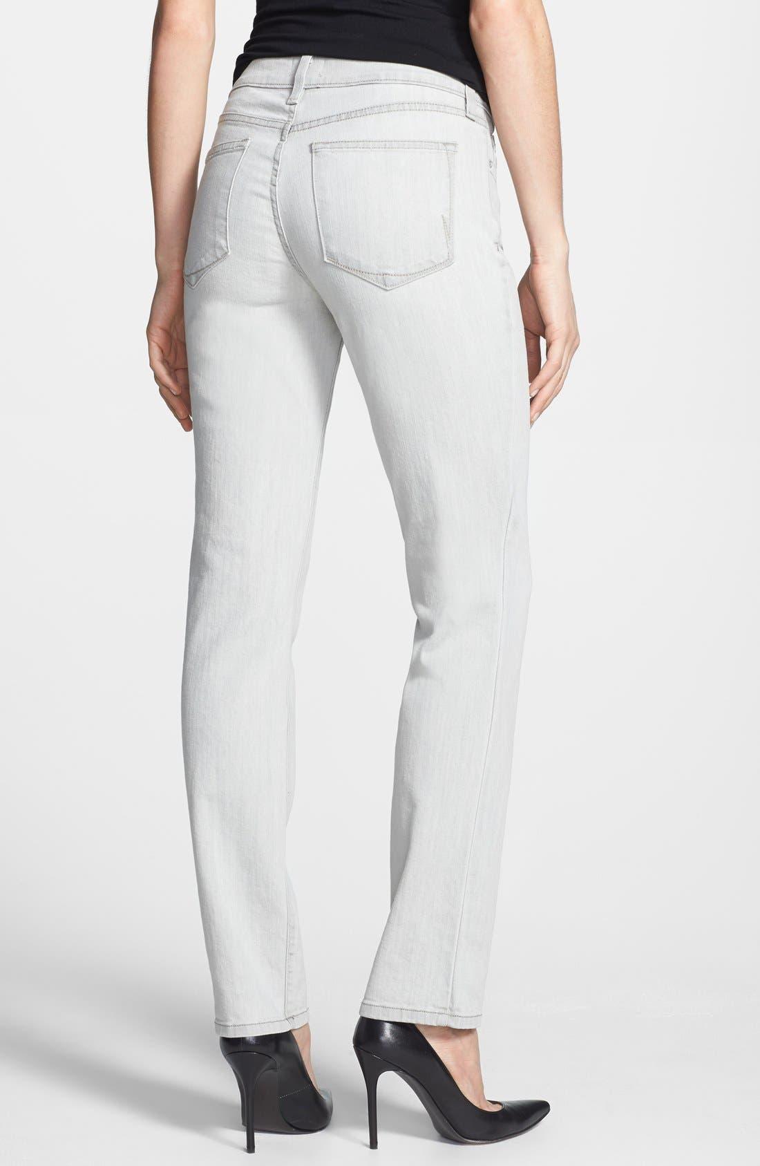 Alternate Image 2  - NYDJ 'Clarissa' Fitted Stretch Ankle Skinny Jeans (Salt Spring)