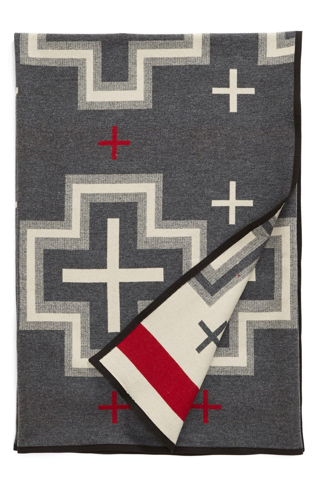 Alternate Image 2  - Pendleton 'San Miguel' Queen Wool & Cotton Blanket