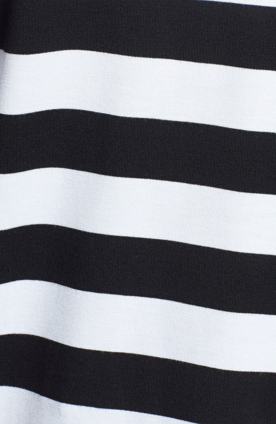 Alternate Image 3  - MICHAEL Michael Kors Stripe Panel Tee