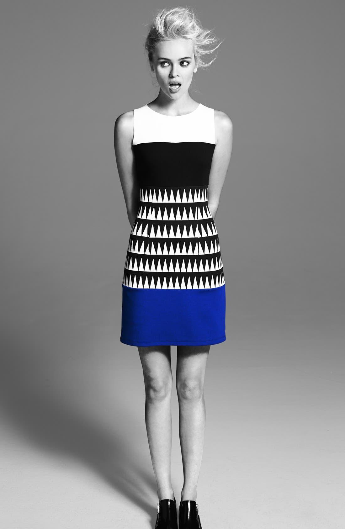 Alternate Image 4  - Bailey 44 'Reggae' Colorblock Sheath Dress