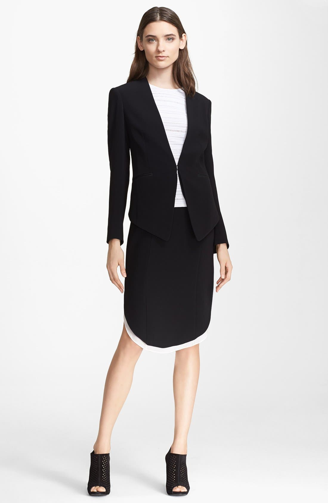 Alternate Image 1 Selected - rag & bone Blazer, Top & Skirt
