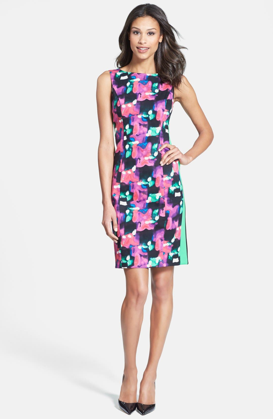 Main Image - Isaac Mizrahi New York Print Sheath Dress