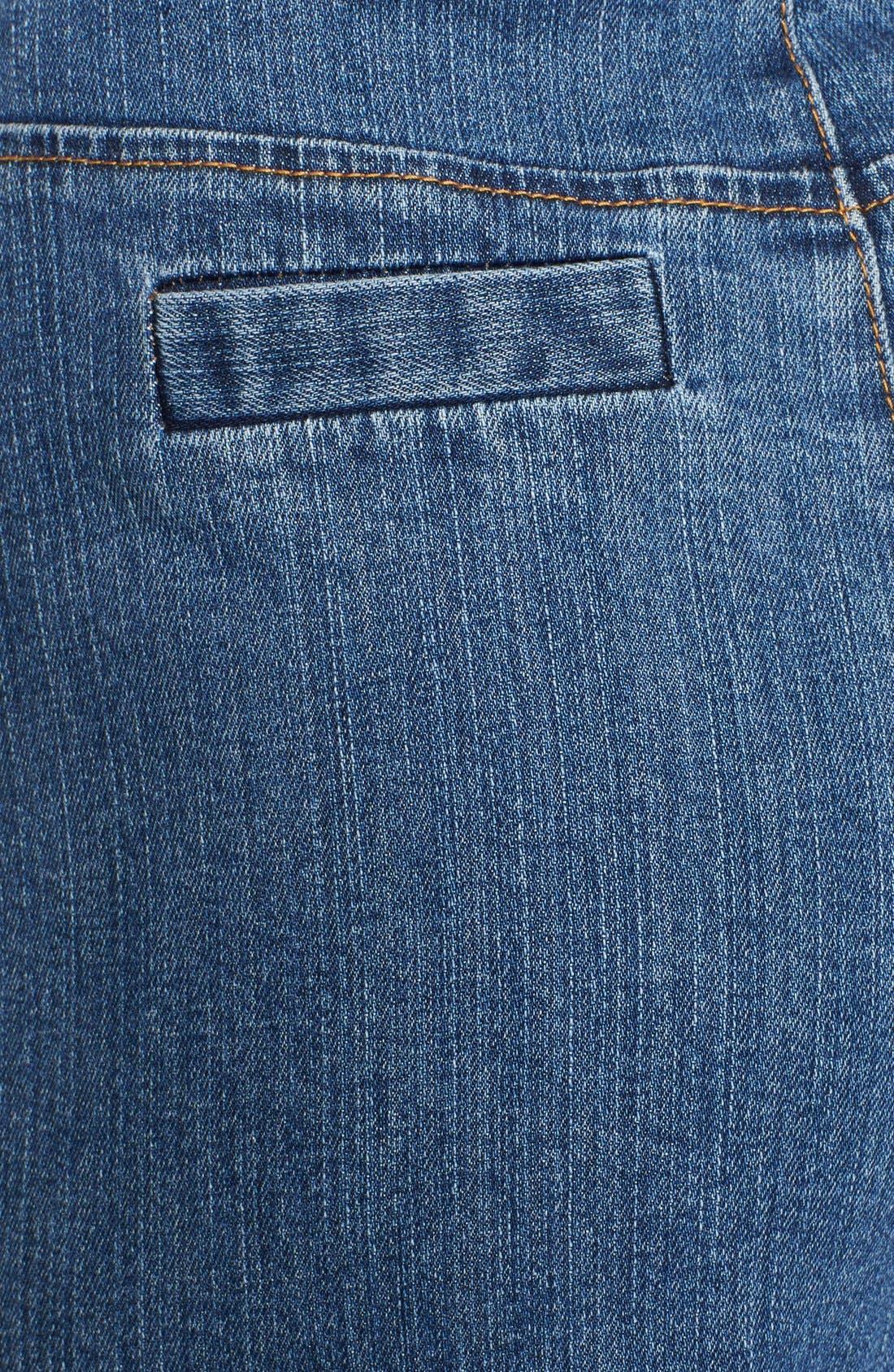 Alternate Image 3  - Rachel Zoe 'Ella' Braided Waist Wide Leg Jeans