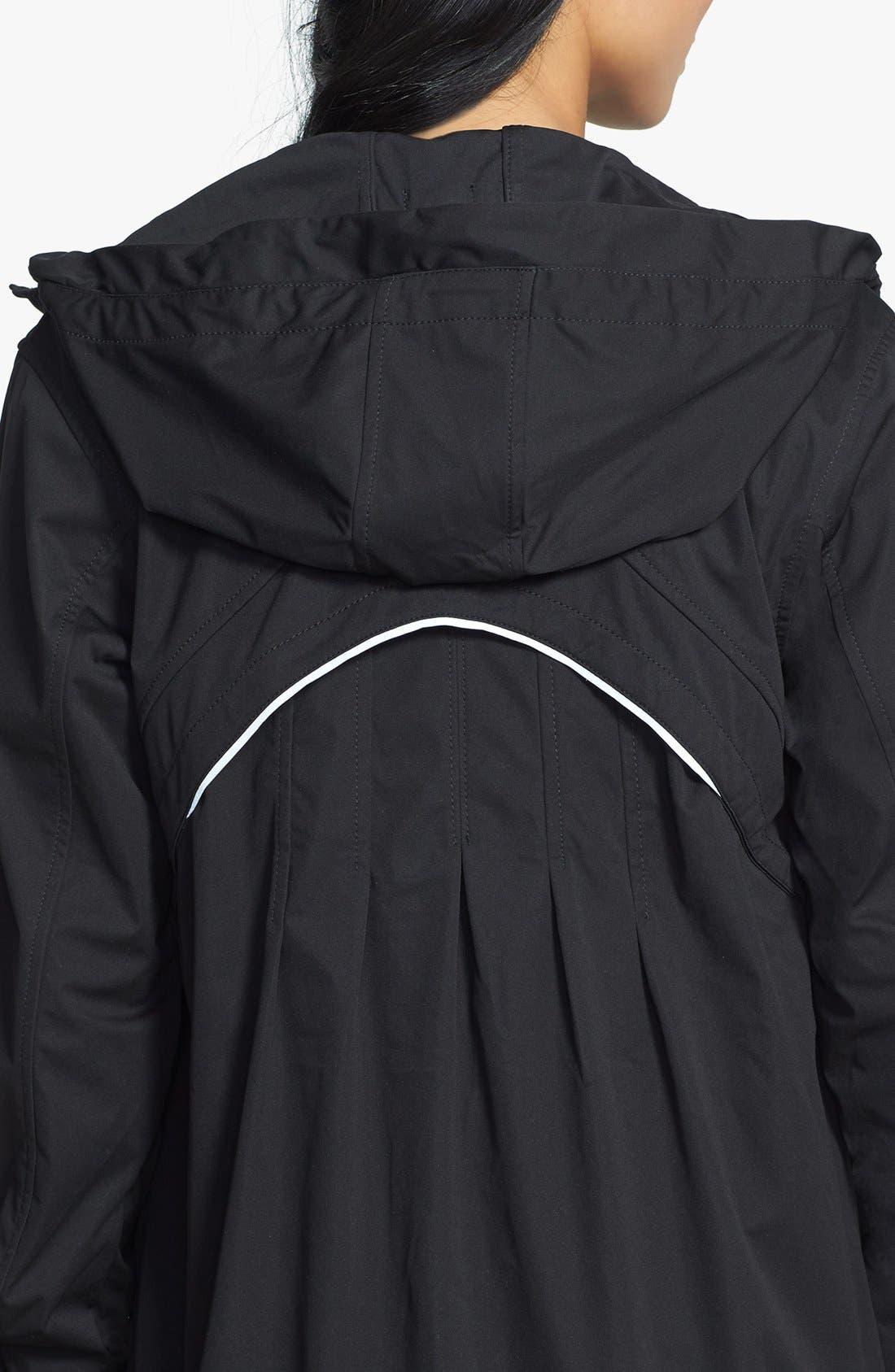 Alternate Image 4  - Zella 'Luxe' Rain Jacket