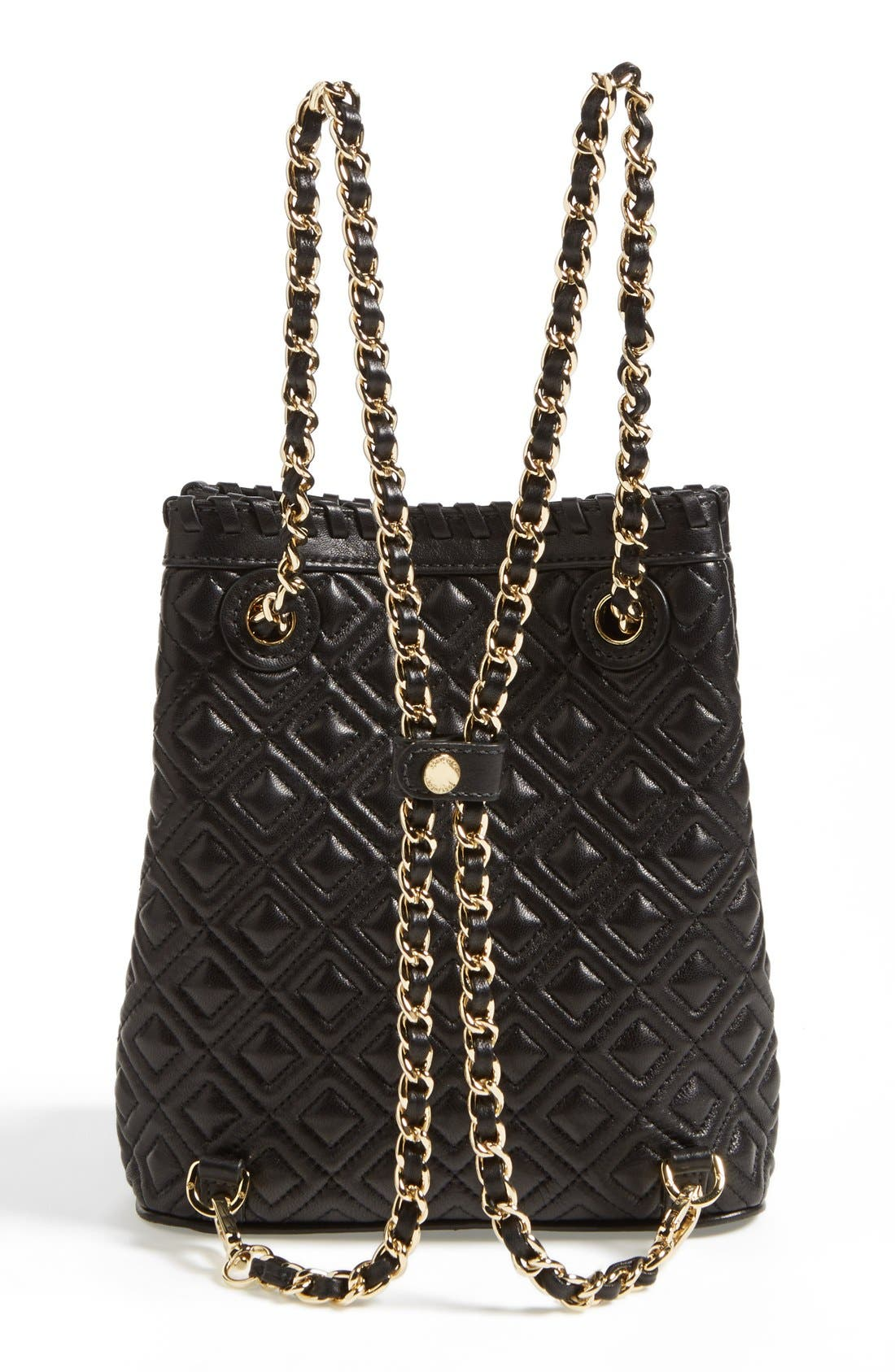 Alternate Image 4  - Tory Burch 'Small Marion' Quilted Leather Backpack