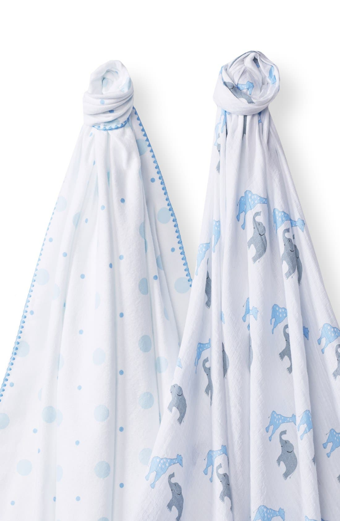 Alternate Image 2  - Swaddle Designs 'Swaddle Duo' Receiving & Swaddling Blankets