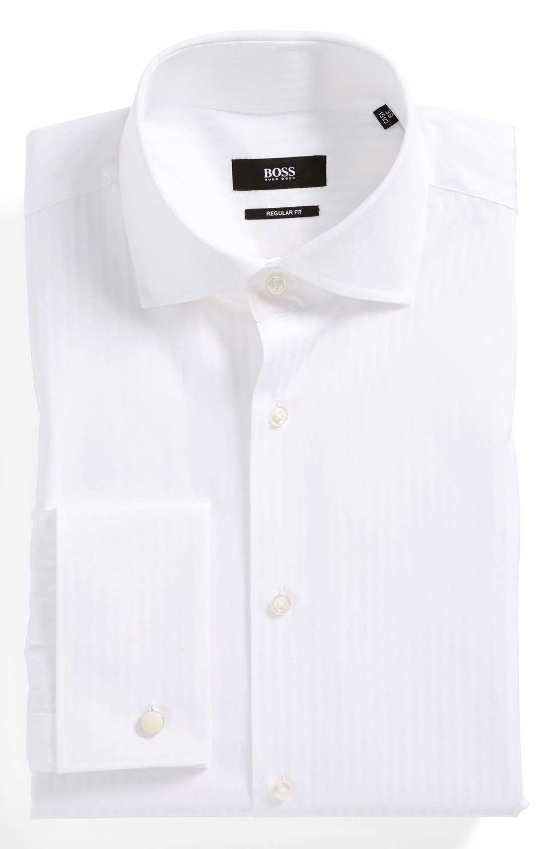 Alternate Image 1 Selected - HUGO BOSS GALE DRESS SHIRT