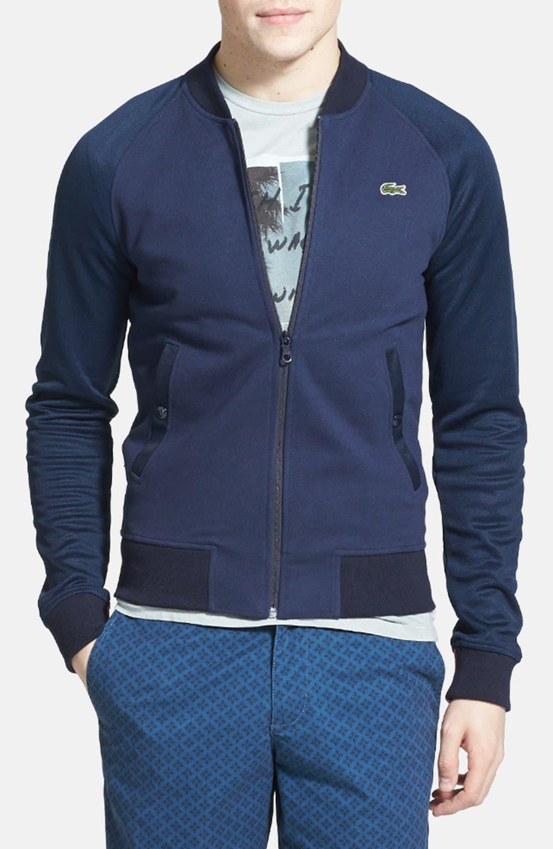 Alternate Image 1 Selected - Lacoste L!VE Zip Track Jacket