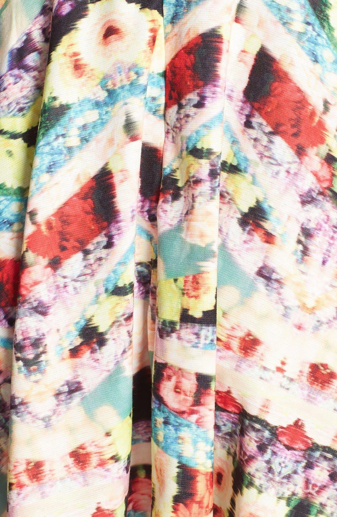 Alternate Image 3  - MINKPINK 'Spring Wave' Print Fit & Flare Dress