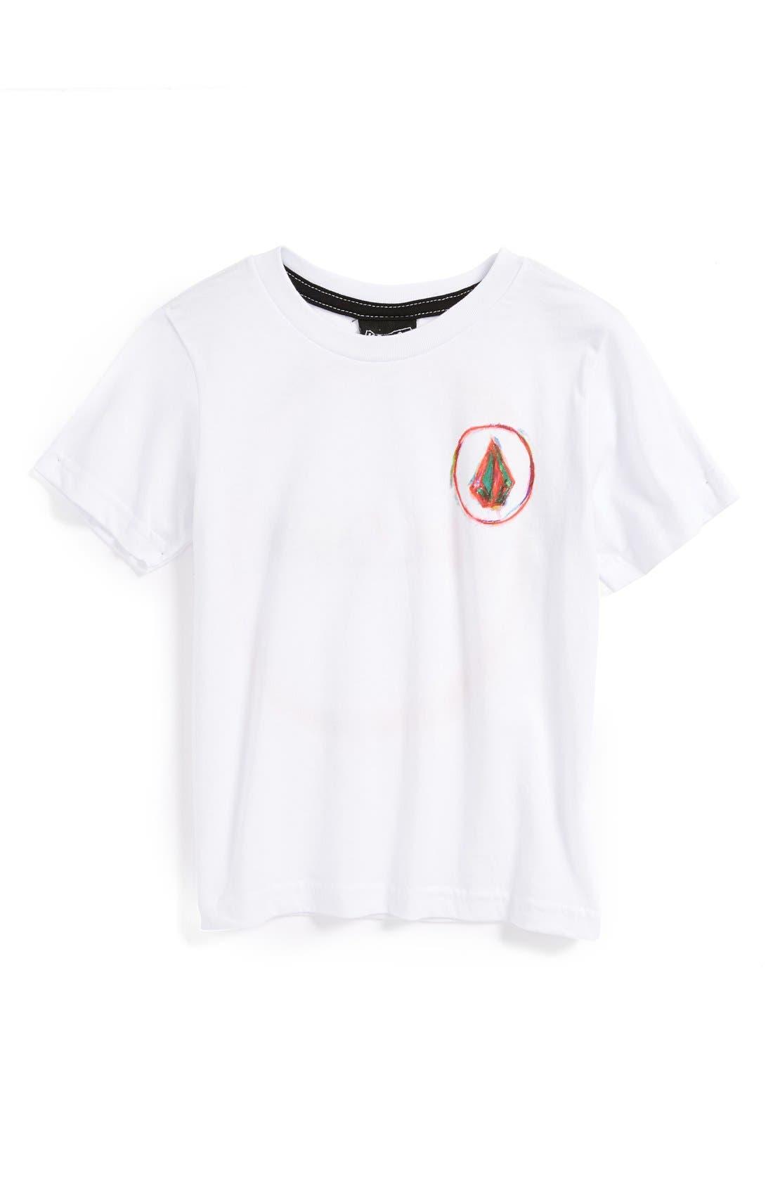 Alternate Image 1 Selected - Volcom 'Ojas' T-Shirt (Toddler Boys)