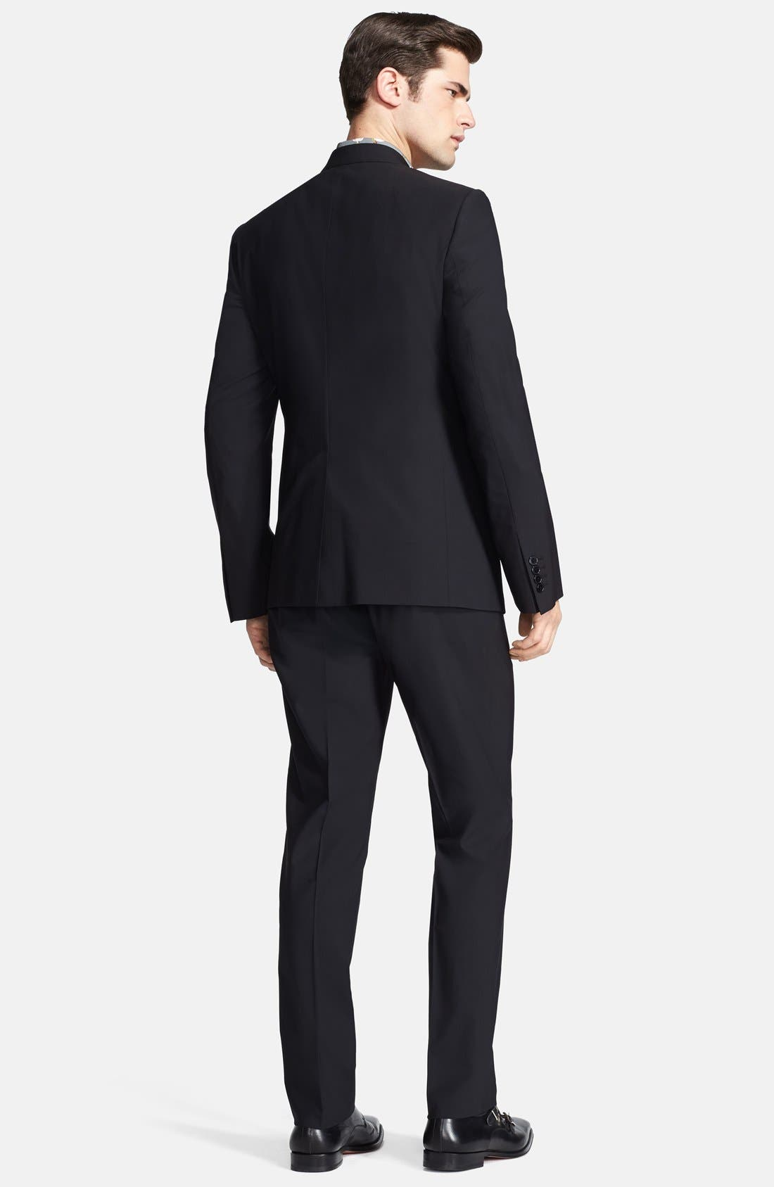 Alternate Image 2  - Dolce&Gabbana 'Martini' Stretch Wool Suit