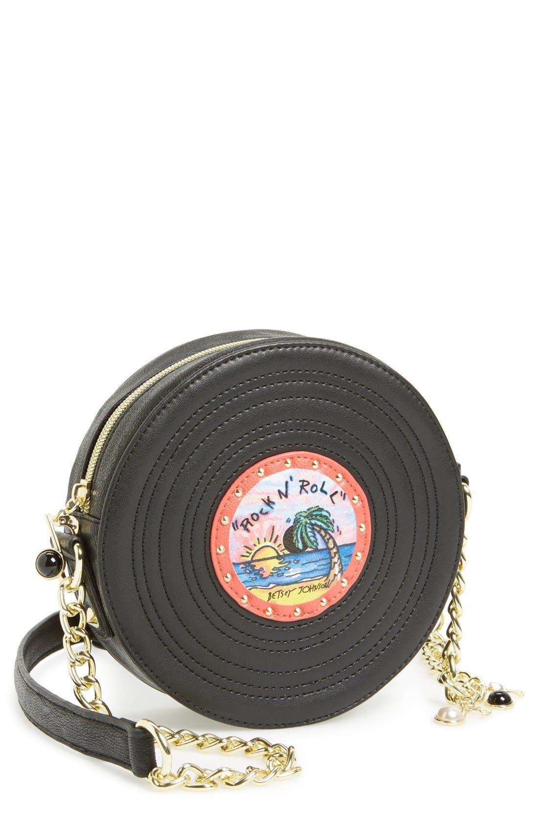 Main Image - Betsey Johnson 'Record' Crossbody