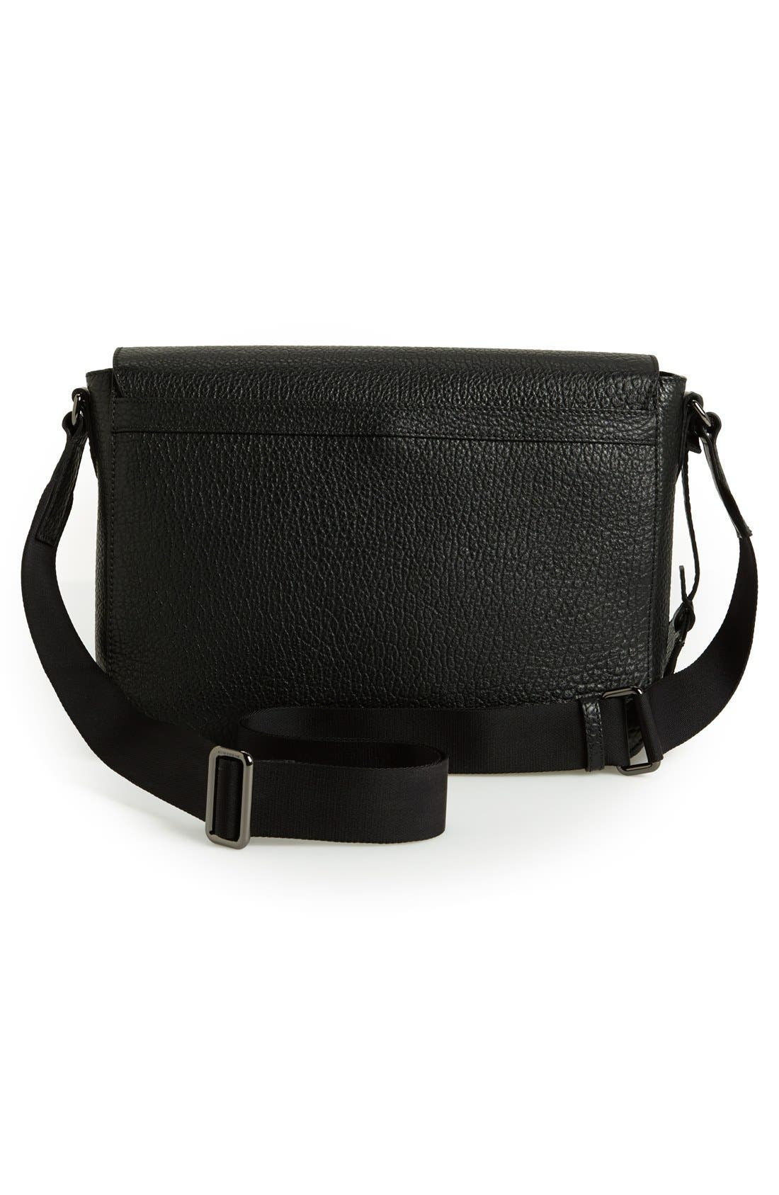 Alternate Image 4  - Burberry 'Small Grifford' Leather Messenger Bag