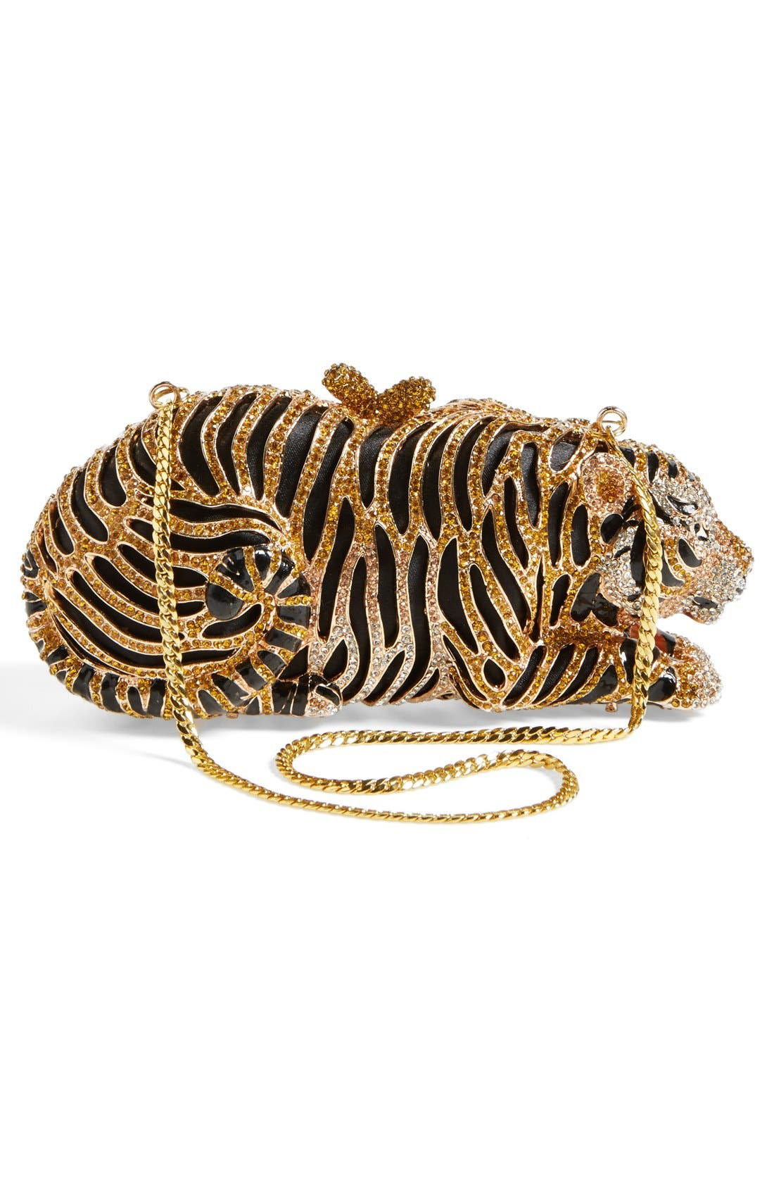 Alternate Image 4  - Natasha Couture Tiger Minaudiere