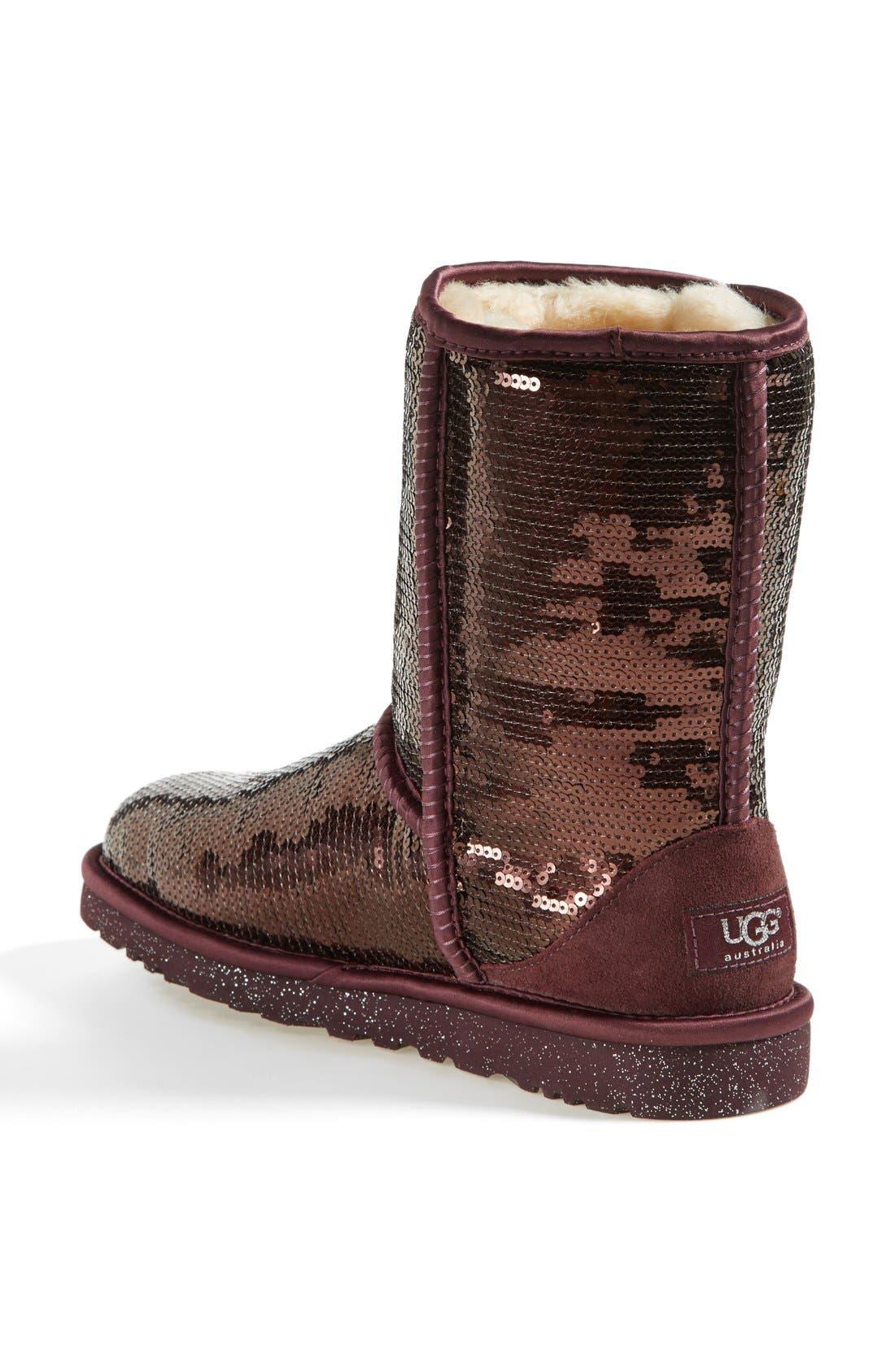 Alternate Image 2  - UGG® Australia 'Classic Short Sparkles' Boot (Women)
