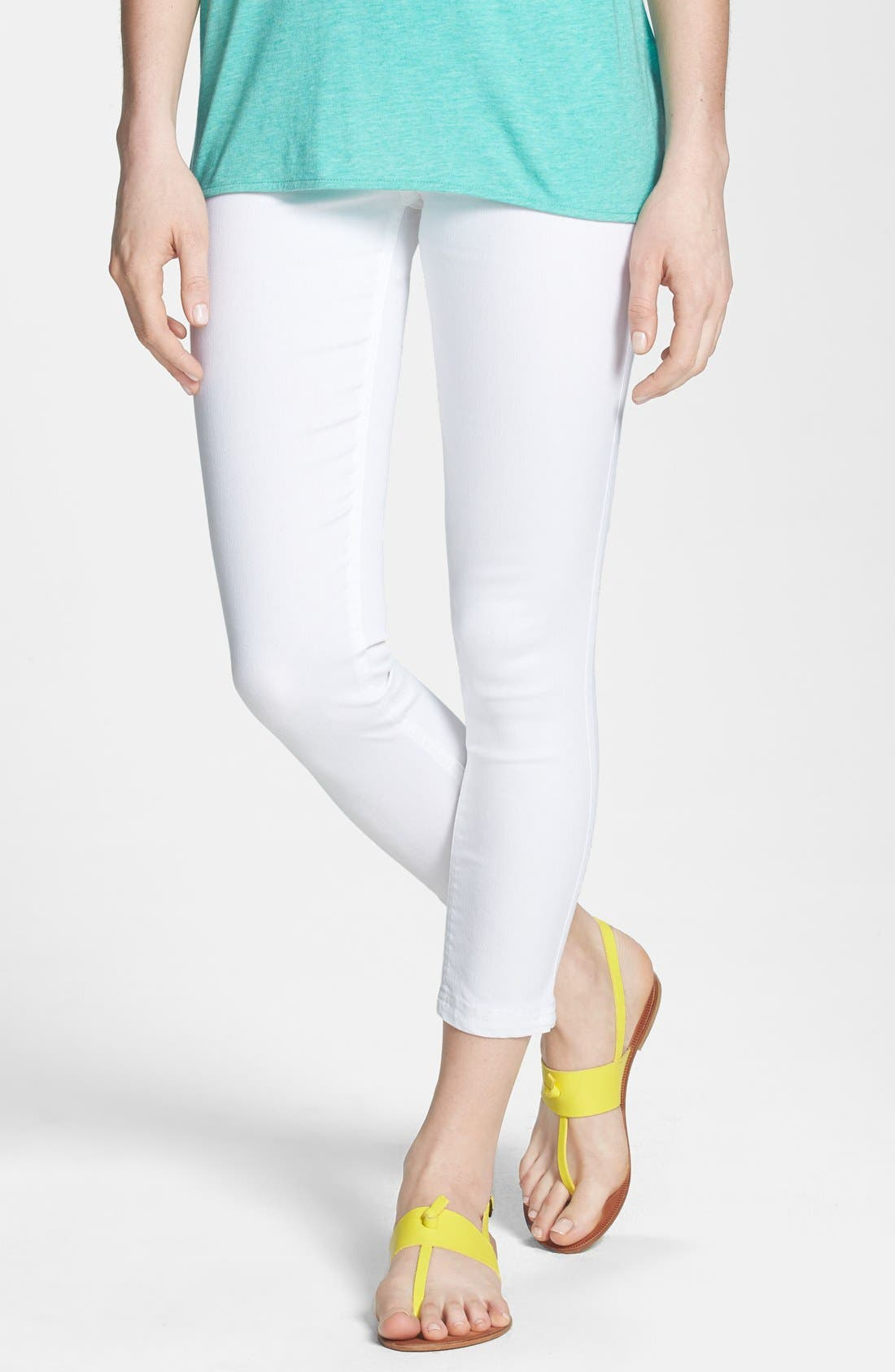 Alternate Image 1 Selected - Nordstrom Skinny Crop Leggings