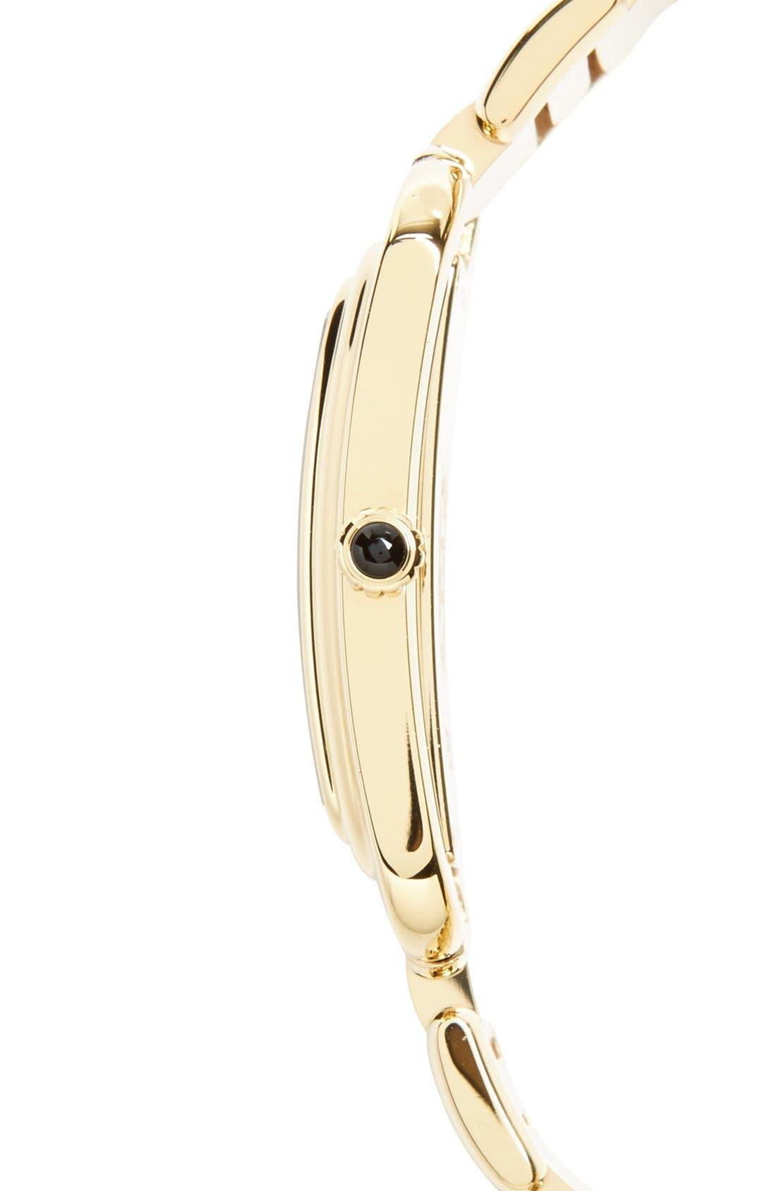 Alternate Image 3  - Fendi 'Classico' Rectangular Bracelet Watch, 25mm x 36mm