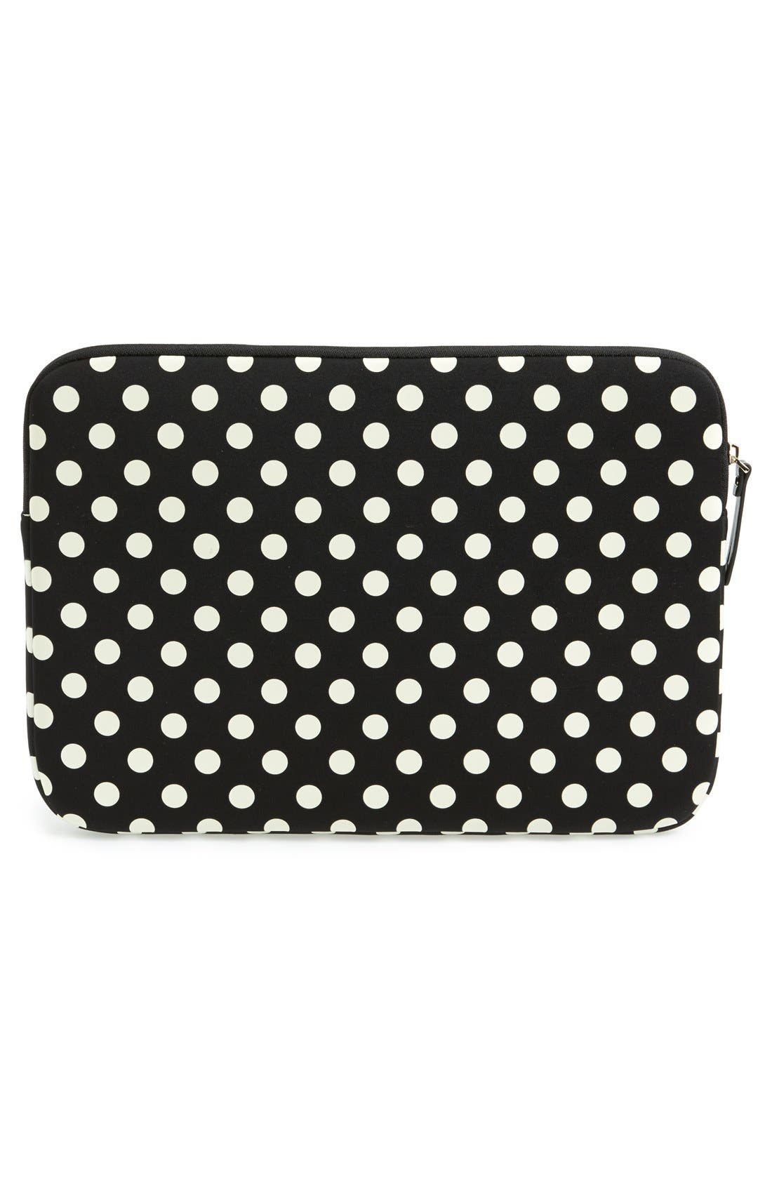 Alternate Image 4  - kate spade new york 'la pavillion' laptop sleeve (13 Inch)