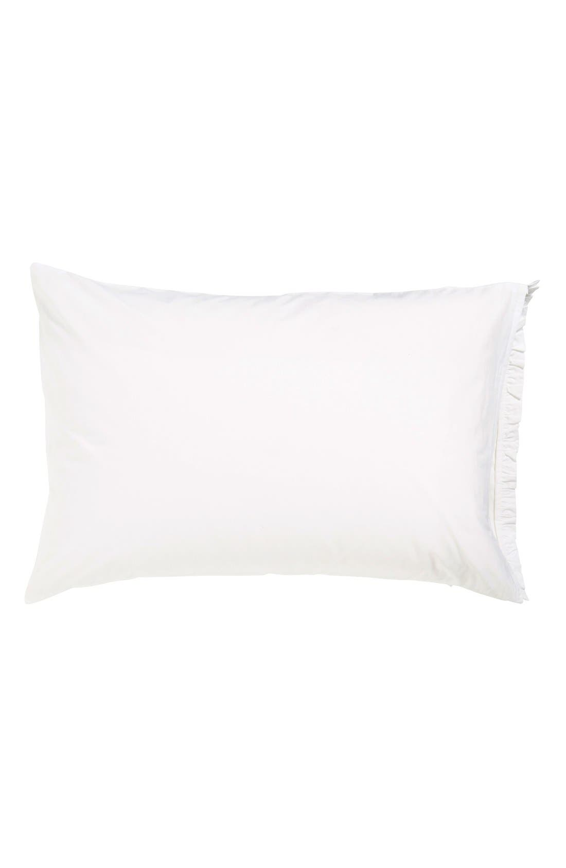 Alternate Image 2  - Amity Home 'Petite Ruffle' Linen Pillowcases (Set of 2)