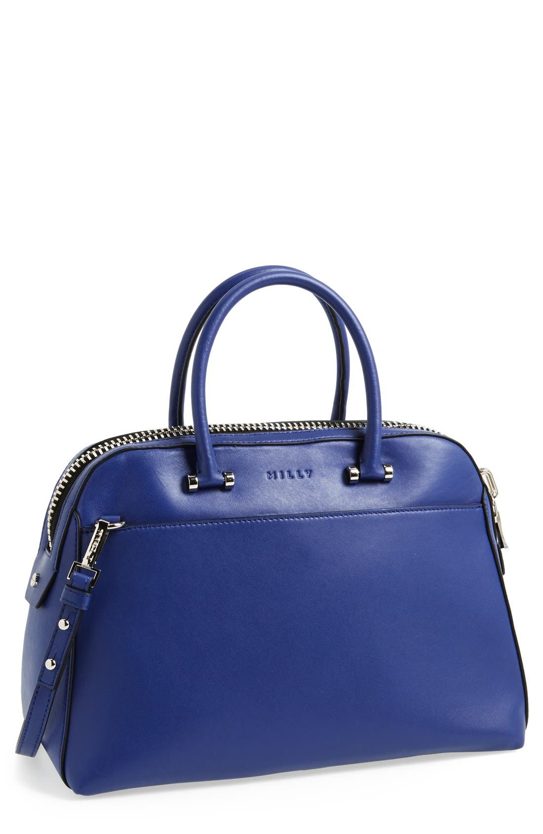 Main Image - Milly 'Medium Blake' Leather Satchel