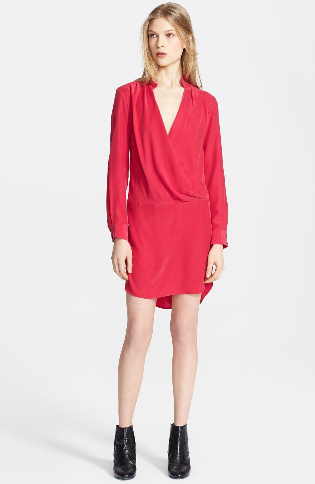 Alternate Image 1 Selected - Thakoon Silk Shirtdress