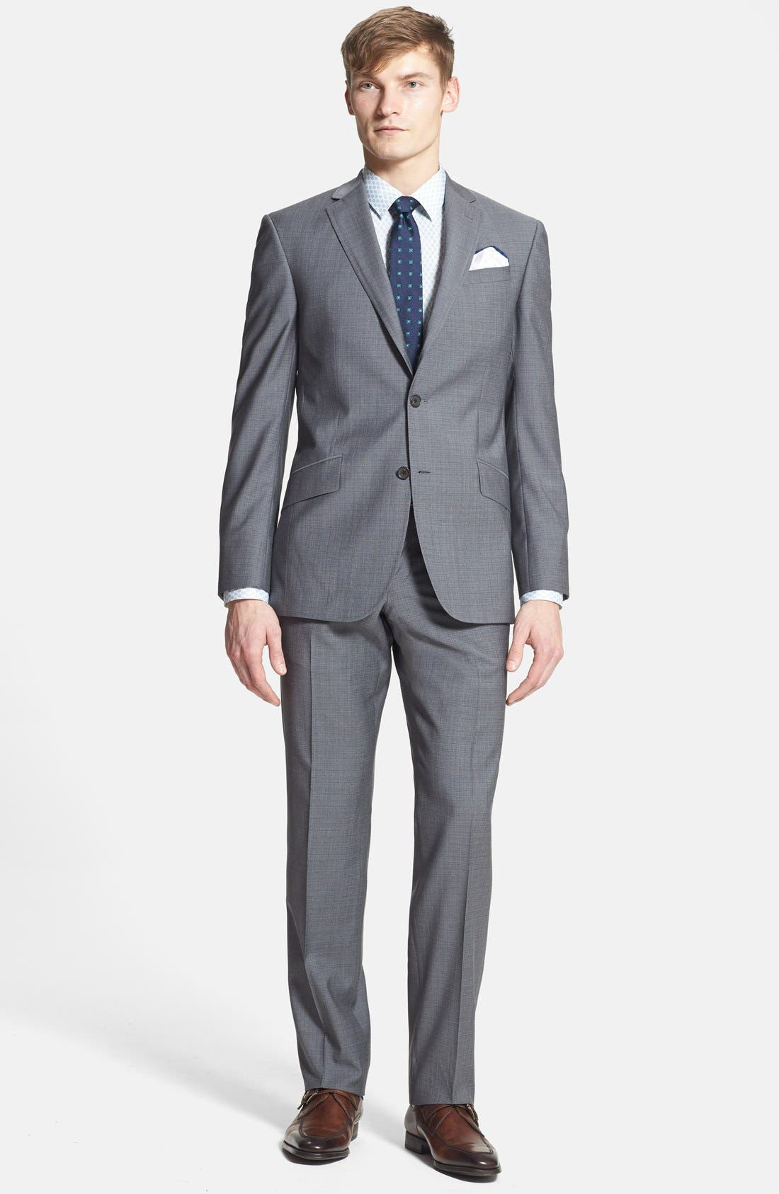 Main Image - Ted Baker London 'Jones' Trim Fit Wool Suit