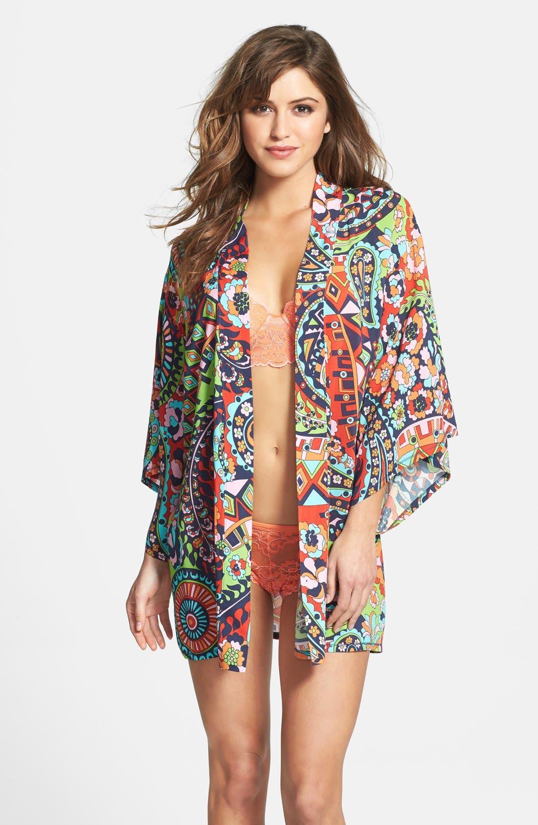 Alternate Image 1 Selected - Josie 'Hollywood Boho' Happy Coat Robe