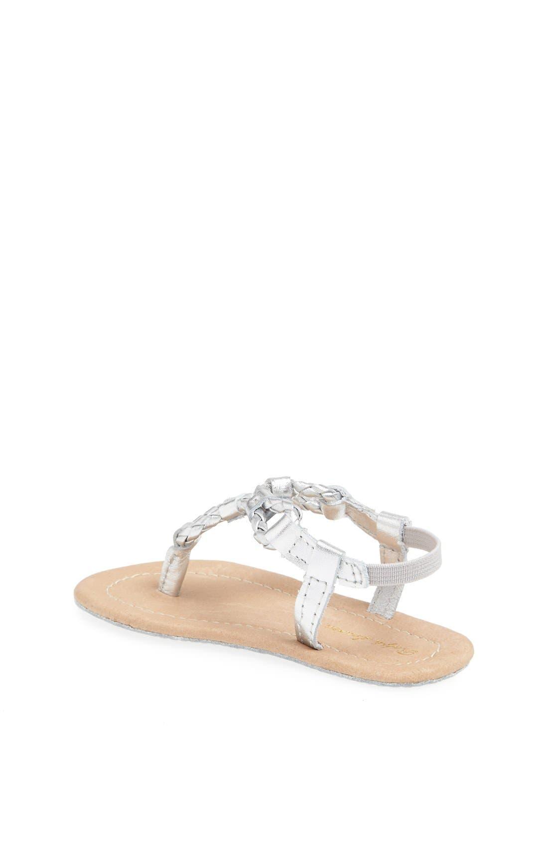 Alternate Image 2  - Ralph Lauren Layette Leather Sandal (Baby Girls)