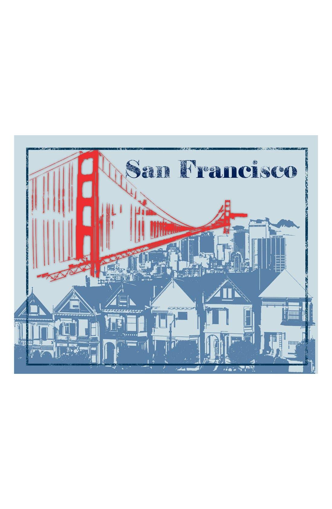 Main Image - Green Leaf Art 'San Francisco' Wall Art