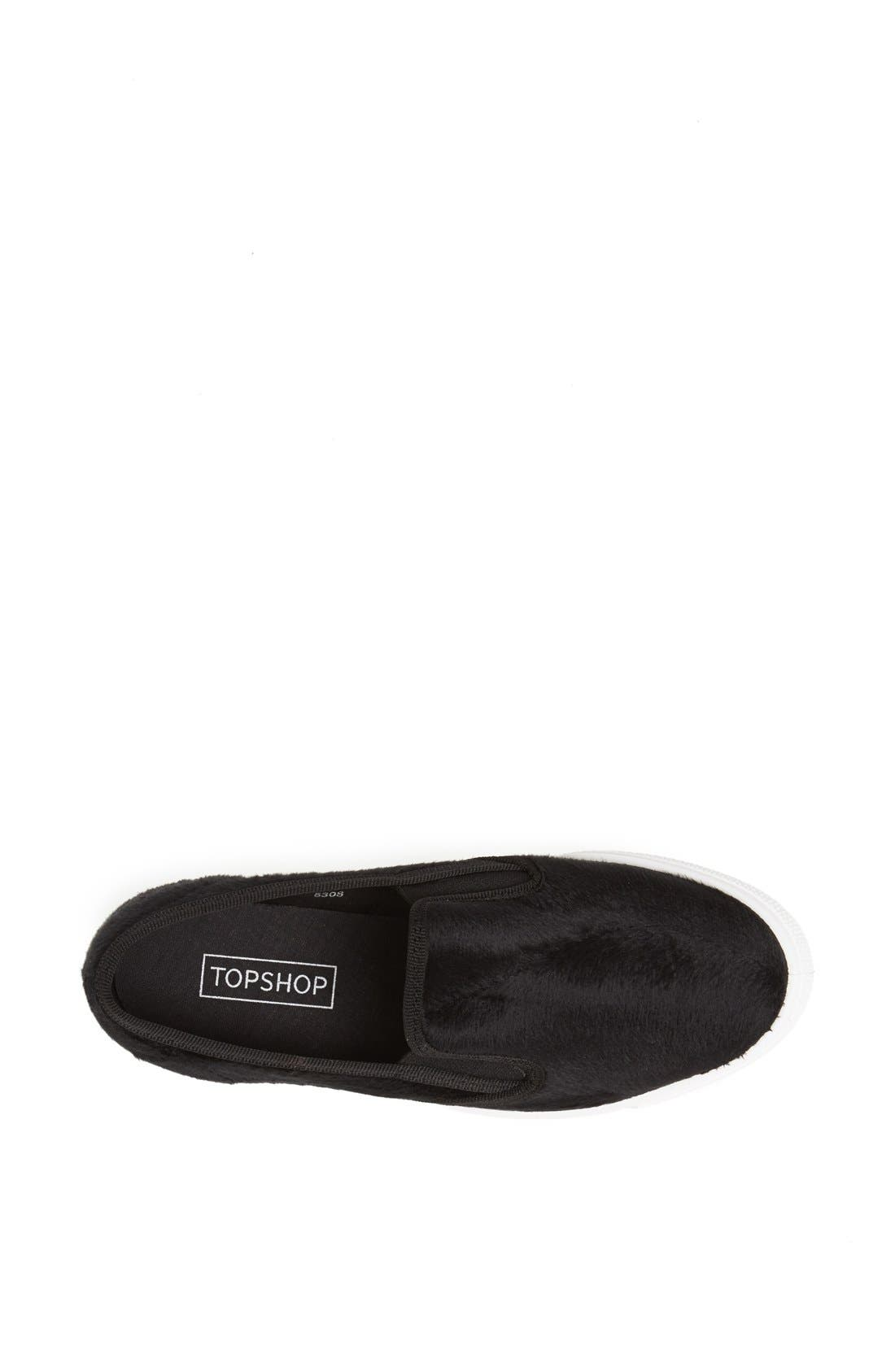 Alternate Image 3  - Topshop 'Tika 2' Slip On Sneaker