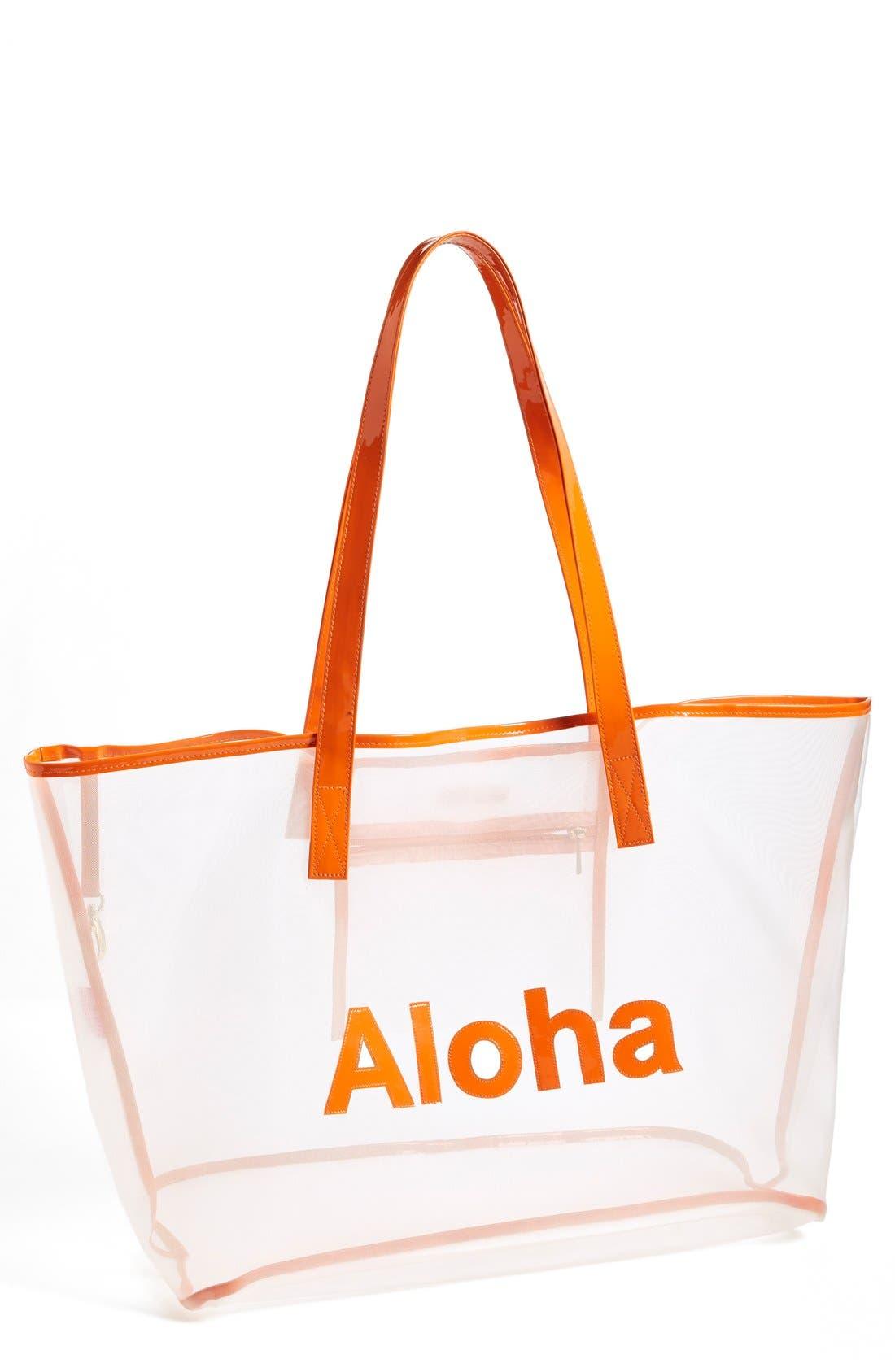 Alternate Image 1 Selected - Lolo 'Madison - Aloha' Mesh Tote